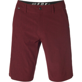 Fox Essex Stretch Tech Shorts Herren heather red